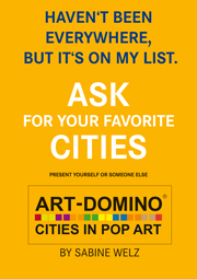 ART-DOMINO® is looking for gallery partners in many cities