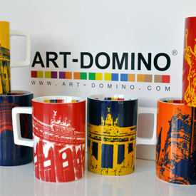 ART-DOMINO® CITY-BAG der Künstlerin Sabine Welz